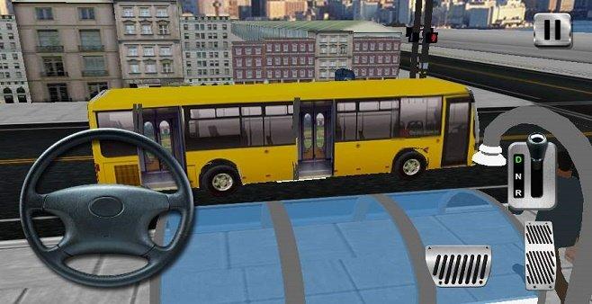 真实的驾驶公交车游戏大全