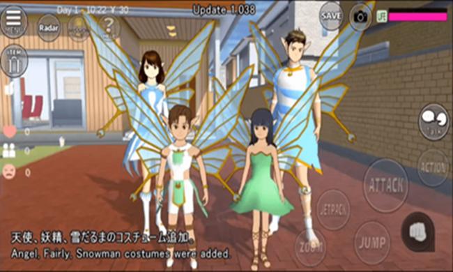 樱花校园模拟器有精灵服装版本