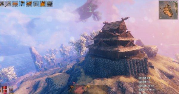 日式天守建造5