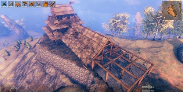 日式天守建造9