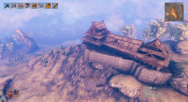 日式天守建造12